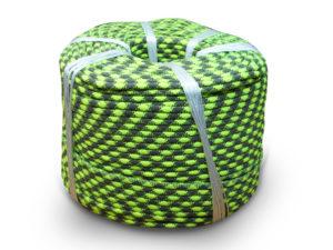 капроновая плетеная полиамидная веревка